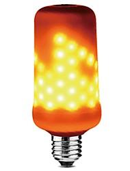 1 pc e27 4 w 3 modes 99 leds effet de flamme led feu de lumière led maïs lumière ac85-265v