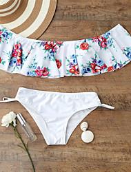 baratos -Mulheres Nadador Biquíni - Floral