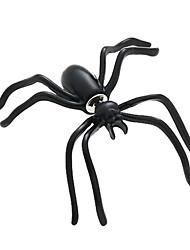 Недорогие -черные серьги паука личность двусторонняя ношение серьги смешной альтернативный Хэллоуин