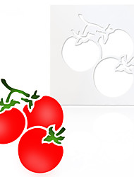 economico -diy pomodoro torta muffa plastica spruzzatura decorazione pomodori decorazione stampo utensili da forno
