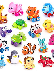 Недорогие -Игрушечные машинки Игрушка с заводом Обучающая игрушка Игрушки Животные Животный принт Пластик Куски Универсальные Подарок