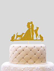 economico -wedding cake topper cake wedding carta con ricevimento in pvc bag wedding