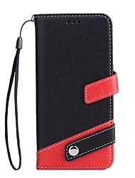 preiswerte -Hülle Für Samsung Galaxy S8 Plus S8 Kreditkartenfächer Geldbeutel mit Halterung Ganzkörper-Gehäuse Volltonfarbe Hart PU-Leder für S8 Plus