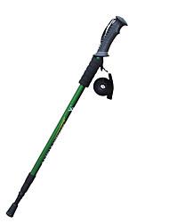 3 Bastoni da camminata sul ghiaccio 135 centimetri Livello professionale Smorzamento Antiscivolo Tungsteno Lega di alluminio Campeggio e