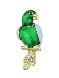 cheap -Women's Brooches - Bird, Friends Fashion Brooch Green For Daily / Casual