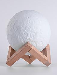 abordables -Moderne Artistique Style moderne Créatif Moderne/Contemporain Noël Rechargeable Décorative Lampe de Table Pour Plastique Blanc
