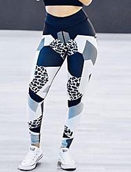 economico -Legging donna medio legging, colore blockporty fashion slim chic