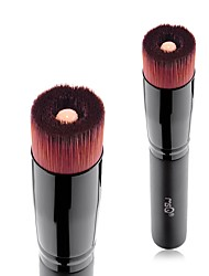 1pc Foundation Brush Synthetic Hair Easy Carrying Easy to Carry Beech Wood Face Men and Women Nursing Daily General use