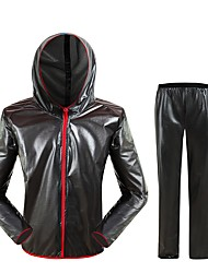 cheap -West biking Cycling Jacket with Pants Unisex Long Sleeves Bike Clothing Suits Reflective Strip Fast Dry Quick Dry Windproof Rain-Proof