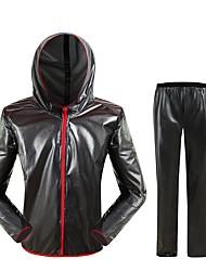 West biking Giacca con pantaloni da ciclismo Unisex Manica lunga Bicicletta Set di vestiti Striscia riflettente Asciugatura rapida