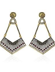 cheap -Women's Synthetic Diamond Rhinestone Drop Earrings - DIY / Multi-ways Wear Rainbow Geometric Earrings For Christmas / Club