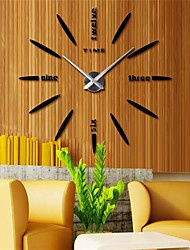 "cheap -Casual / Country / Office / Business Stainless Steel / EVA 2"" Diamond Indoor / Outdoor / Indoor,AAA Wall Clock"