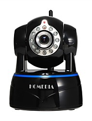 homedia® 1080p 2.0mp appareil photo ip sans fil p2p détection de mouvement vue audio mobile bidirectionnelle (iOS Android)