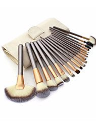 cheap -YZIMENG® 18pcs Contour Brush Set  Foundation/Concealer/Blush/Eyeshadow/Eyeliner/Lip/Brow Synthetic Hair Professional Full Coverage Make Up for Face