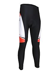 abordables -Arsuxeo Cuissard Long de Cyclisme Homme Vélo Bas Séchage rapide Polyester Elasthanne Classique Automne Printemps Cyclisme/Vélo triathlon