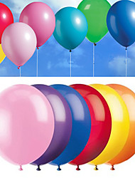 cheap -8inch - 100pcs Mixed Color Latex Balloons Beter Gifts®Party Decoration Supplies - Yield rate about 98%