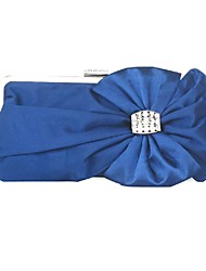 cheap -Women Bags Silk Evening Bag Bow(s) for Wedding Event/Party All Seasons Blue Black