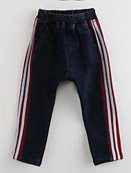 billiga -Pojkar Rand Bomull Jeans