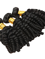 cheap -Peruvian Hair Unprocessed Loose Wave Human Hair Weaves 3pcs Natural Color Hair Weaves