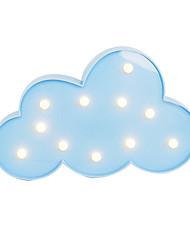abordables -brelong 3d chaud blanc enfants chambre décoration lumière de la nuit lumière de mariage lumière décorative - nuages