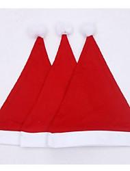 Недорогие -3шт снежинки печатных рождественские шляпы для взрослых детей подарок рождественские украшения