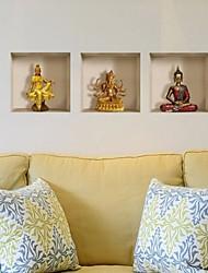 economico -Persone Adesivi murali Adesivi 3D da parete Adesivi decorativi da parete Materiale Decorazioni per la casa Sticker murale