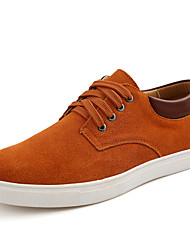 cheap -Men's Shoes Suede Winter Fall Comfort Sneakers Lace-up for Casual Outdoor Black Coffee Brown Blue Wine