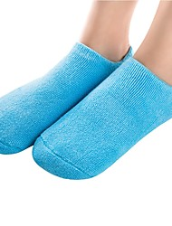cheap -2pcs Anti-Slip Shock Absorption Shoe Cover Gel All Shoes All Seasons Women's Blue Pink
