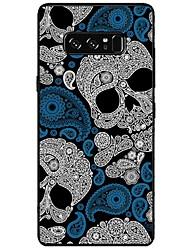 Hülle Für Samsung Galaxy Note 8 Note 5 Muster Rückseitenabdeckung Totenkopf Motiv Weich TPU für Note 8 Note 5 Edge Note 5 Note 4 Note 3