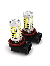 cheap -2PCS Car Original Fog Lamp Replacing Bulb 35W H4 H7 H8 H9 H11 9005 9006 Samsung LED Fog Light White/Red/Yellow/Blue Color Selective
