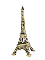 cheap -Key Chain Model Building Kit Tower Brass Chrome Iron Unisex Gift