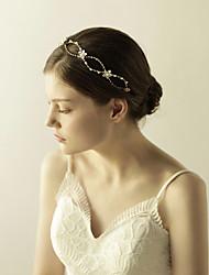 Napodobenina perel Štras Diadémy Čelenky Květiny Přílba