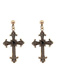 cheap -Women's Drop Earrings Jewelry Fashion Cross Alloy Cross Jewelry For Gift Casual