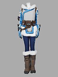 Inspirado por Overwatch Fantasias Vídeo Jogo Fantasias de Cosplay Ternos de Cosplay Não Especificado Blusas Botas Mais Acessórios