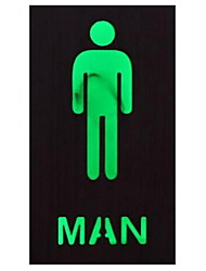 1pc American Vintage LED Sign Light for Restaurant&Restroom Men/Women/Welcome Without Battery
