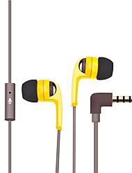 p152a no ouvido fones de ouvido com fio híbrido fone de ouvido de fone de ouvido de telefone móvel de plástico