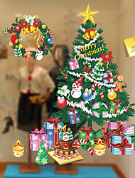 Natale Adesivi murali Adesivi aereo da parete Adesivi decorativi da parete Materiale Decorazioni per la casa Sticker murale