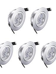 economico -3W 200lm 3 LED LED a incasso Bianco caldo AC85-265