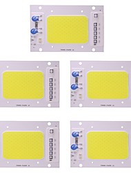 cheap -50W LED COB Chip Waterproof IP65 220V Smart IC for DIY Spotlight Floodlight Warm / Cool White (5 Pcs)