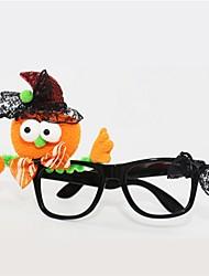 Недорогие -Куки-аниме Очки Хэллоуин День детей Фестиваль / праздник Костюмы на Хэллоуин Оранжевый Мода