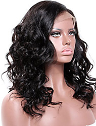 cheap -Remy Human Hair Lace Front Wig Brazilian Hair Wavy 130% 150% 180% Density With Baby Hair Glueless African American Wig Short Long Mid