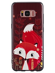 For Case Samsung Galaxy S8 Plus S8 Case Cover Red Fox Pattern TPU Material Phone Case For Galaxy S7 S7 EDGE