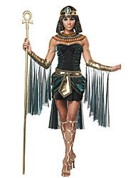 cheap -Goddess Egyptian Costume Cleopatra Cosplay Costume Headpiece Party Costume Masquerade Women's Halloween Carnival Festival / Holiday