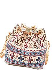 Women Bags All Seasons Canvas Shoulder Bag for Casual Outdoor Blue Khaki