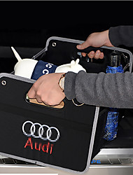 Vehicle Trunk Car Organizers For Audi All years Fabrics