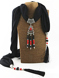 Femme Alliage Nylon Résine avec pince en métal Rectangle,Solide Toutes les Saisons