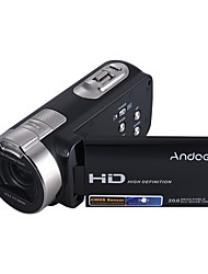 Andoer HDV-312P 1080P Full HD Digital Video Camera Portable Home-use DV with 2.7 Inch Rotating LCD Screen Max. 20 Mega Pixels 16 Digital Zoom