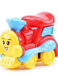 cheap -Toy Cars Pull Back Car/Inertia Car Pull Back Vehicles Train Toys Plane / Aircraft Train Car Plastics Unisex Boys' Pieces