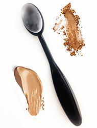 abordables -silisponge cepillo de dientes cepillo de cepillo licuadora silicona maquillaje cosméticos cepillo soplo para fundación crema en polvo