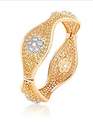 cheap -Women's Bangles Fashion Vintage Zircon Gold Plated Jewelry For Wedding Office & Career